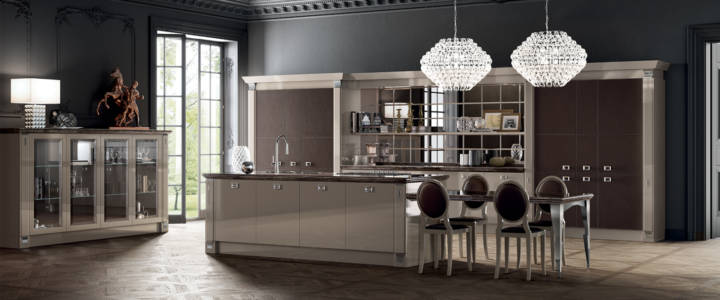 9356 Cucina-Exclusiva-Scavolini-laccato-lucido-Visone