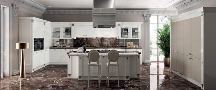 9357 Cucina-Exclusiva-Scavolini-laccato-lucido-bianco-prestige